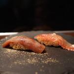 弘寿司 - 鮪と金目鯛:江戸時代風