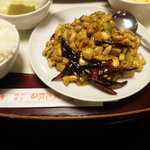 Toukouhanten - 鶏肉の唐辛子炒め