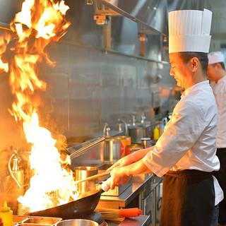 10年以上修業した料理人が作る本格四川料理!