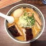 麺屋武蔵 神山 - 味噌神山らぁ〜麺 大盛(1,180円)