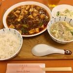 広東名菜   紅茶 - 四川麻婆豆腐ランチ