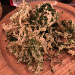 下北沢BARU - 白魚のフリット アオサ風味