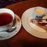 カフェ・ホートン - バナナケーキセット
