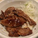 東京カルビ - 中落ちカルビ丼(ご飯少な目)