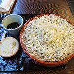 室町砂場 - 料理写真:別製大ざる(950円) 更科粉使用