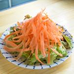 橙灯 - 橙灯サラダ