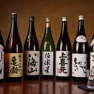 お酒はシンプルに。お料理と寄り添う一杯で、贅に浸る至福の夜