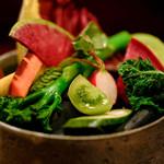 ラパルタメント ディ ナオキ - 野菜たち