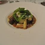 103067086 - 知床牛スネ肉の白ワイン煮込み