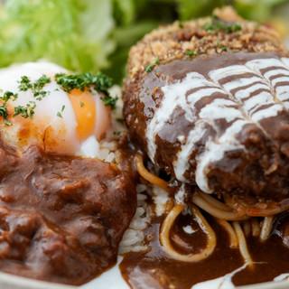 食材からプレートまで♦全てが長崎県産の特製トルコライス