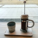 cafe 縞 - ドリンク写真:フレンチプレス珈琲