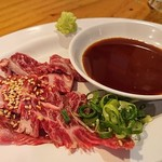 焼肉牛浪漫 - ハラミの刺身