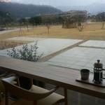 cafe 縞 - 公園を眺めながら