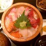 ほっこり 品川店 - 海鮮おひつ定食(1000円)