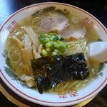 煮干中華 あさり - 塩中華(並)580円