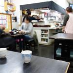 福魚食堂 - 店内は至ってフツーの食堂です。