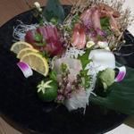 蟹みつ - 蟹と鮮魚の3種盛り