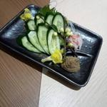 蟹みつ - 蟹味噌胡瓜