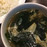 キャトルラパン - スープ ライス