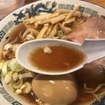 103074304 - らぁめん(醬油) スープアップ