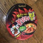 103079757 - オマケ                          韓国コンビニで買ってきた  辛カップラーメン
