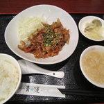 10308418 - [ランチ]豚肉の生姜焼き定食