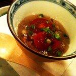 10308482 - なめこと山芋の柚子風味ジュレ