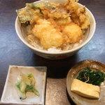10308936 - 松茸と秋鱧天丼