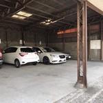 手打ちそば まえかわ - お店の駐車場は北側から3台分のみ。_2019年2月