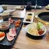 和幸亭 - 料理写真:サラダとナムルの盛り合わせと白米がついたお得なランチセット(о´∀`о)