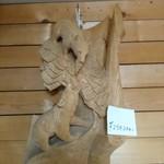 ミルキッシモ - 高級木彫り熊