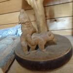 ミルキッシモ - 本場の木彫り熊はヤル気満々だ!