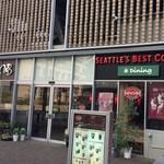 シアトルズベストコーヒー&ダイニング - ワシントンDCシアトル発祥 シアトルズベストコーヒーさん MITSUKOSHI横で〜す