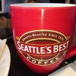 シアトルズベストコーヒー&ダイニング - それでも熱いコーヒーっていいね