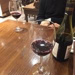コンクラーベ - 赤ワインをボトルで注文