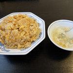 華風 - 料理写真:ニンニク炒飯(600円)