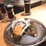 すしまる - 牡蠣タバスコ200円