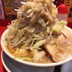 麺屋 あっ晴れ - ラーメン野菜Wアップ