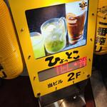 東京駅 居酒屋 ひょっとこ -