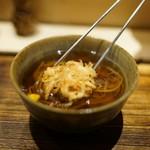 日本橋 蕎ノ字 - 料理写真:蕎の字の掛けそば 最高です!