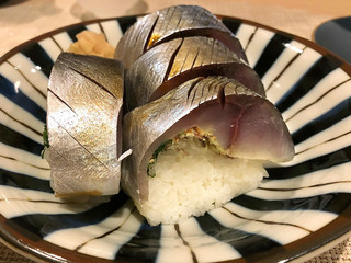 りはく - 鯖寿司 1000円('19.3月)