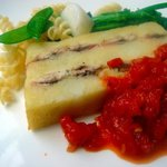 1031882 - 鰯、ジャガイモ、ベーコンのオーブン焼き