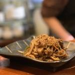 京の韓国家庭料理 ハムケ - チャプチェ
