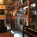 韓国家庭料理 ソウルオモニ - 店内の様子です。