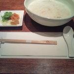 10311114 - 干し貝柱と干し椎茸の旨味中華粥