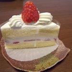 メープル - 料理写真:ショートケーキ