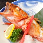 津軽じょっぱり漁屋酒場 - キンキン塩焼