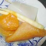 津軽じょっぱり漁屋酒場 - 生姜味噌おでん