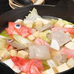 津軽じょっぱり漁屋酒場 - 八戸ひっつみ鍋