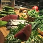 エルバ ダ ナカヒガシ - 旬の食材たち